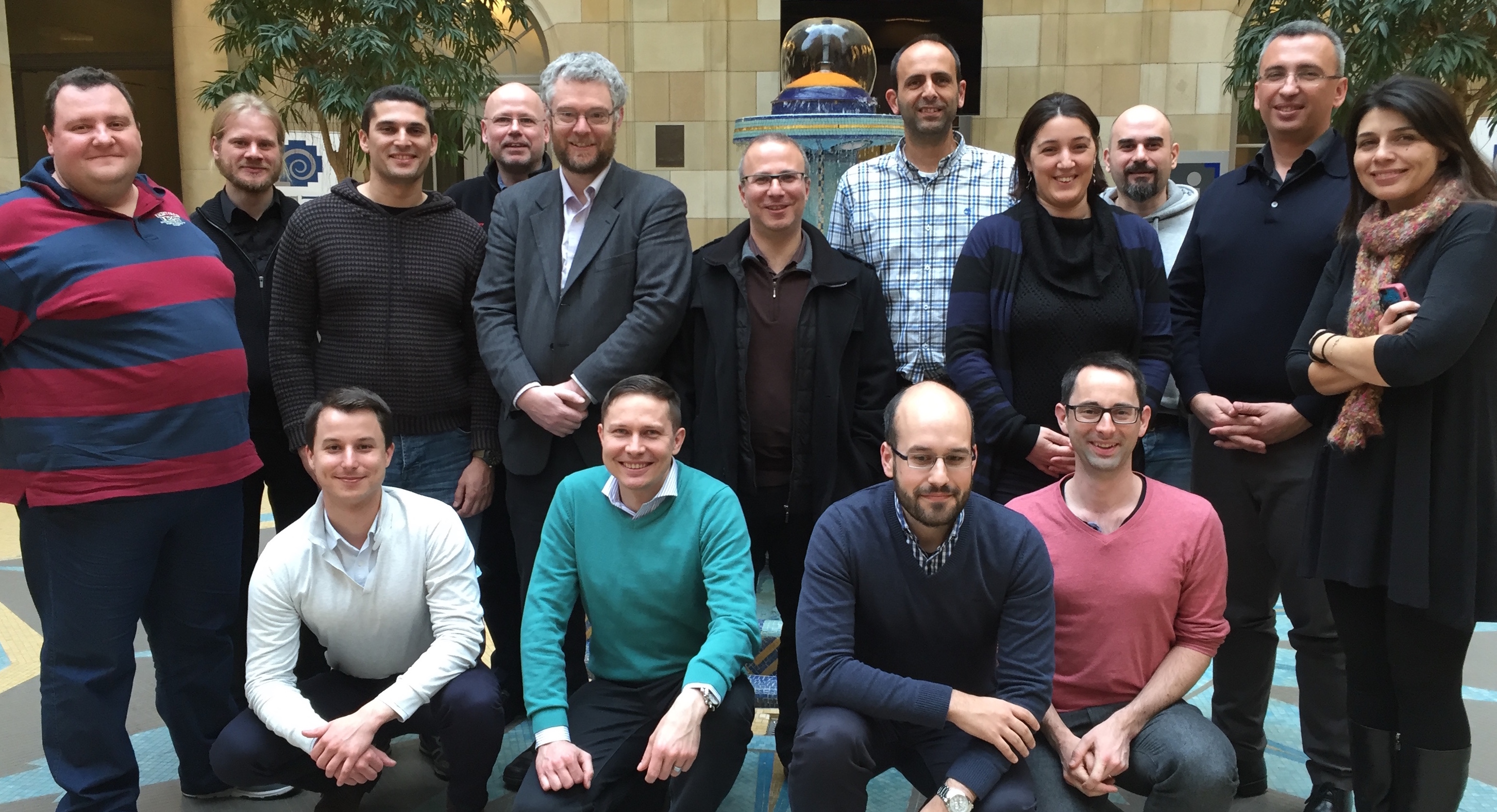 The YDS-Consortium at a project meeting in Brussels