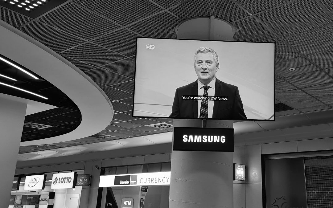 AI-based HLT System Co-Developed by DW Innovation  Now Used for News Subtitling at Frankfurt Airport